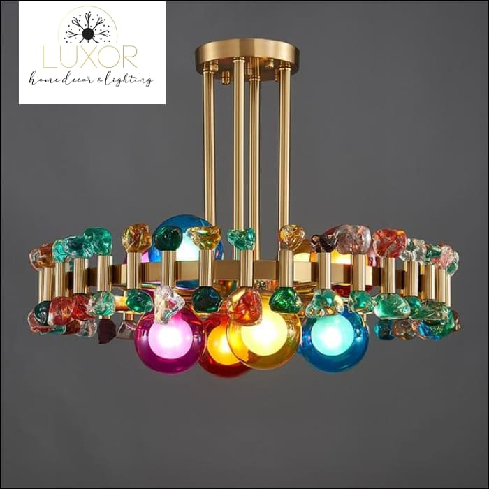 chandeliers Beauty Bling Chandelier - Luxor Home Decor & Lighting