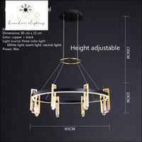 chandeliers Havanily Modern Collection - Luxor Home Decor & Lighting