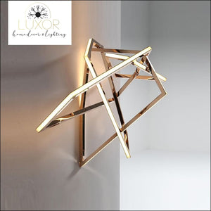 wall lightig Gold Elise Wall Lamp - Luxor Home Decor & Lighting