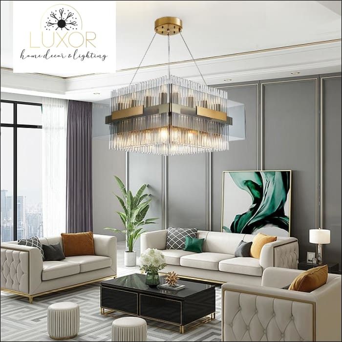 chandeliers Denebo Deco Chandelier - Luxor Home Decor & Lighting