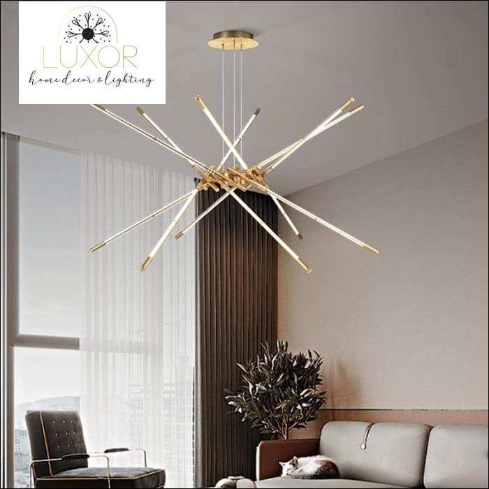 chandeliers Castana Sputnik Chandelier - Luxor Home Decor & Lighting