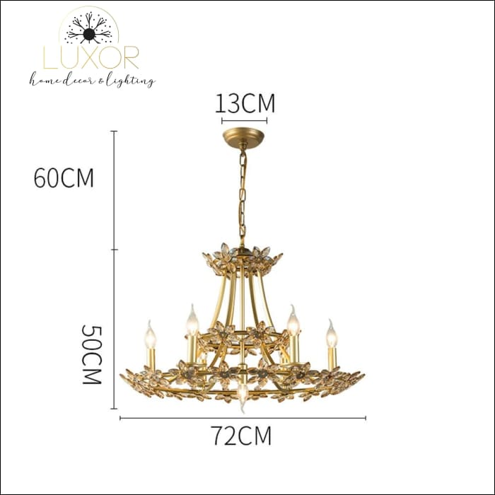 chandelier Colonial Empress Chandelier - Luxor Home Decor & Lighting