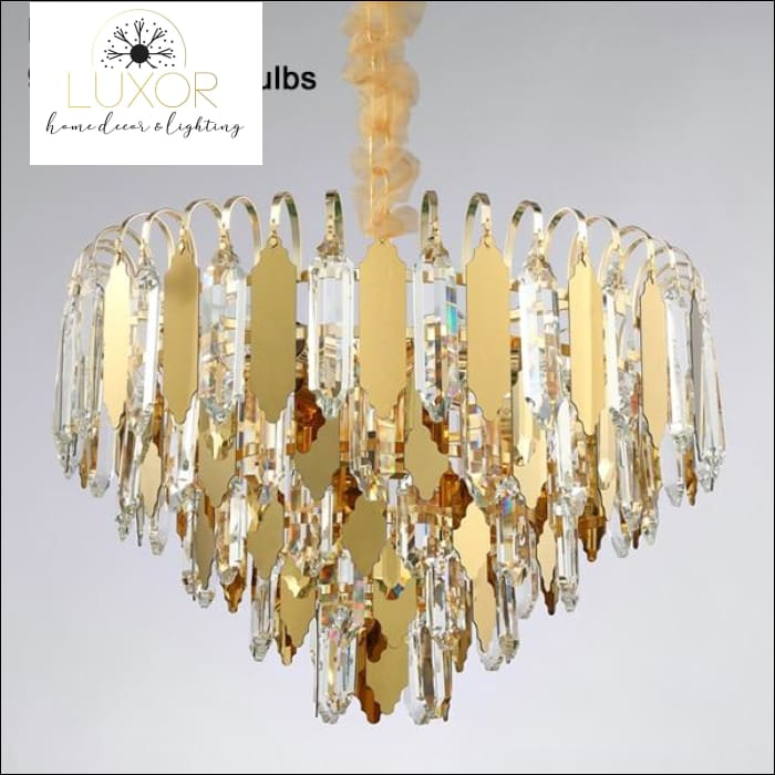 Knowles Crystal Chandelier - Dia50xH33cm / Warm light 3000K - chandelier