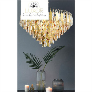 Knowles Crystal Chandelier - chandelier
