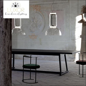 Petunia Cylinder Dome Collection - pendant lighting
