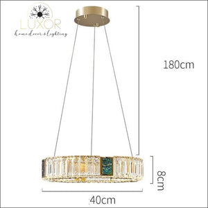Bryony Crystal Chandelier - Dia40xH8cm / Cold White - chandelier