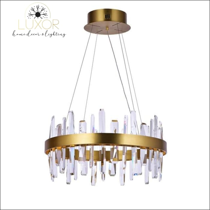 Kalina Crystal Chandelier - D40xH30cm / Warm White - chandelier