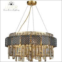 Monrose Crystal Chandelier - Dia80xH45cm / >7 / Warm White - chandeliers