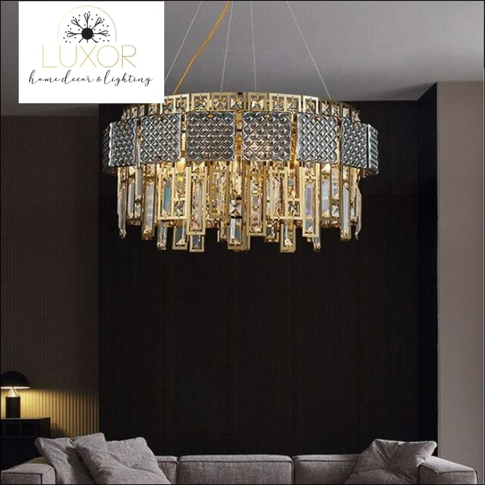 Monrose Crystal Chandelier - Dia60xH45cm / >7 / Warm White - chandeliers