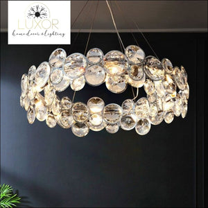 Cassia Chrome Chandelier - chandelier