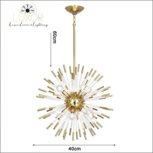 Stroby Spike Chandelier - Dia40cm / Warm light 3000K - chandeliers