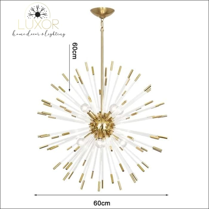 Stroby Spike Chandelier - Dia60cm / Warm light 3000K - chandeliers