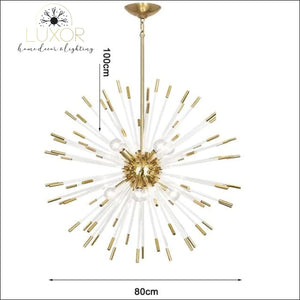 Stroby Spike Chandelier - Dia80cm / Warm light 3000K - chandeliers