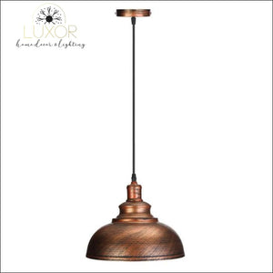 Edison Vintage Industrial Pendant Light - bronze - pendant lighting
