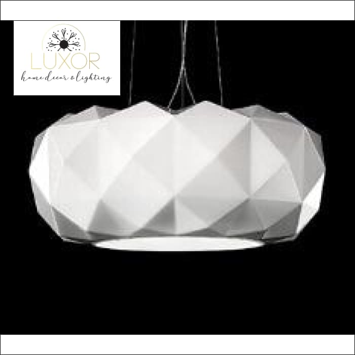 Modernismo Glass Pendant Lamp - WHITE / 30 cm - pendant lighting