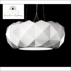 Modernismo Glass Pendant Lamp - WHITE / 35 cm - pendant lighting