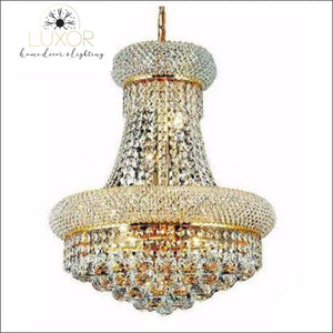 chandeliers French Empire Gold Crystal Chandelier - Luxor Home Decor & Lighting