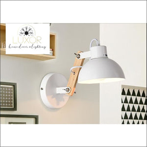 Winston Nordic Wooden LED Sconce - wall lighting