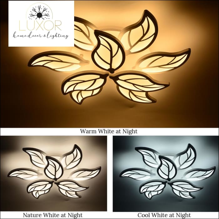 ceiling light Flower Nordic LED Ceiling Light - Luxor Home Decor & Lighting