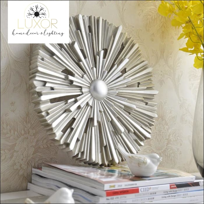 wall decor Resin Decorative Wall Ornament - Luxor Home Decor & Lighting