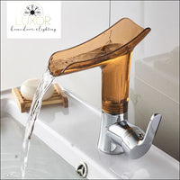 faucets Lisna Clear Faucet - Luxor Home Decor & Lighting