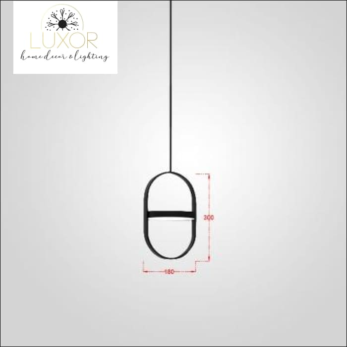 Athens Nordic Pendant - Vertical (18x30cm) / Cool White - pendant lighting