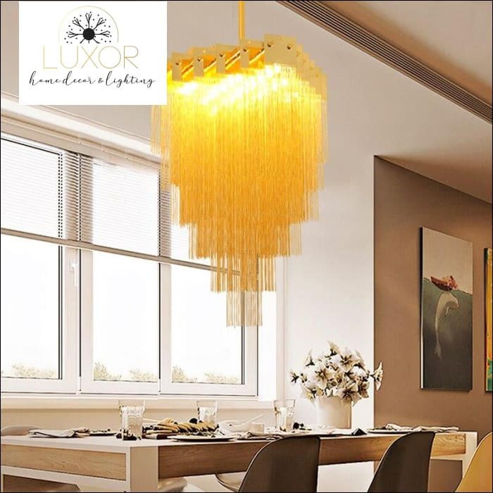 chandeliers Aminda Chain Chandelier - Luxor Home Decor & Lighting