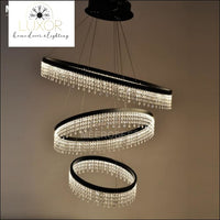 chandeliers Crystalized Raindrop Chandelier - Luxor Home Decor & Lighting