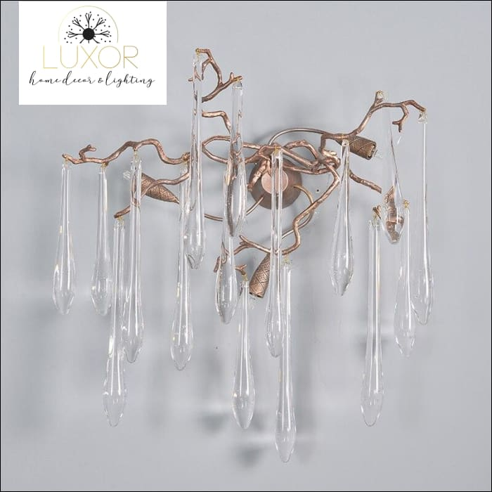 pendant lighting Crystal Tear Drop - Luxor Home Decor & Lighting