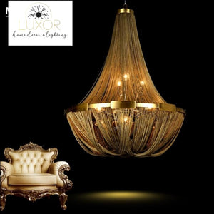 Franis Luxury Rope Chandelier - chandeliers