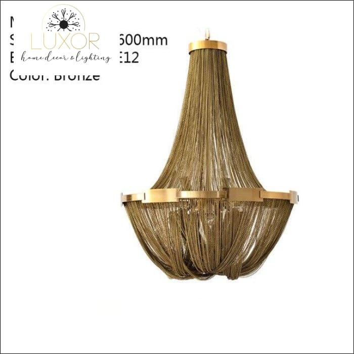 Franis Luxury Rope Chandelier - D550mm H600mm - chandeliers