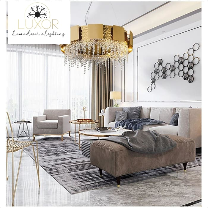 chandeliers Tear Drop Luxury Crystal Chandelier - Luxor Home Decor & Lighting