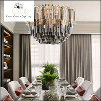 chandeliers Hankily Crystal Chandelier - Luxor Home Decor & Lighting