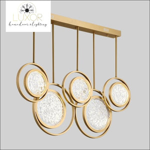 chandeliers Tresor Round Chandelier - Luxor Home Decor & Lighting