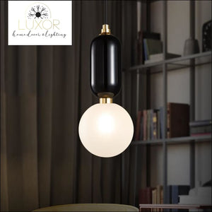 pendant lighting Splendid Glass Pendant Light - Luxor Home Decor & Lighting