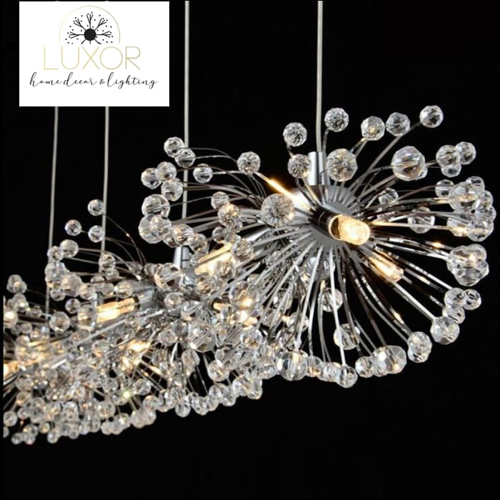 Griselda Crystal Pendant - pendant lighting
