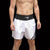 Muay Thai Shorts - White and Black