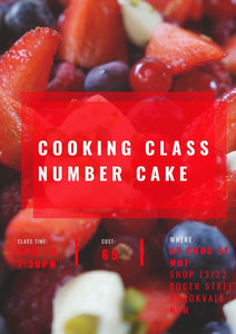 Cooking class November 20th
