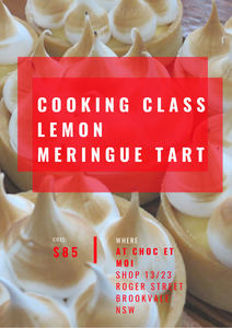 Cooking class March 7th
