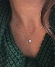 "Load image into Gallery viewer, Sterling Silver and CZ 16"" $13.00"