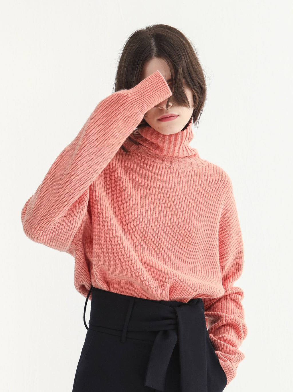 Salmon Pink Sweater
