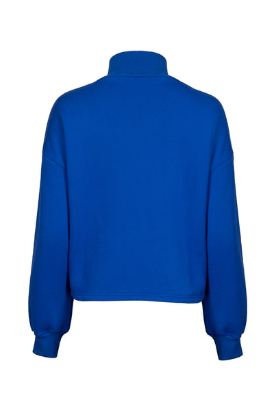 0281921505 Turtleneck knit sweater with zip fastening front details