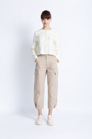 028192A201 Lightweight tapered pants