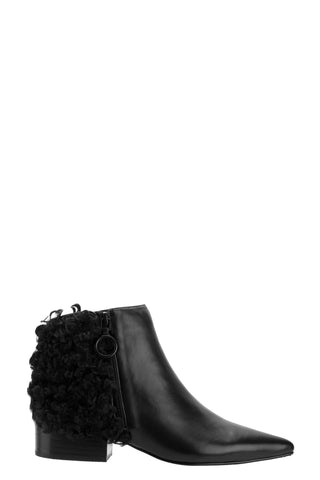 eq:iq BECKI Shearling Leather Ankle Boots