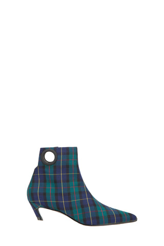 DAYNA Plaid Ankle Boots