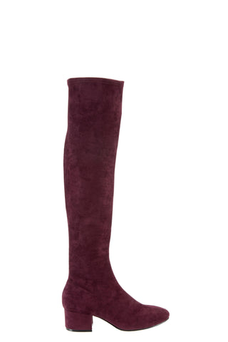 eq:iq LARKSPUR Suede Over-the-knee Boots