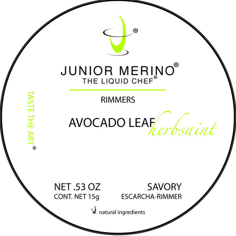 Mini Avocado Leaf/Herbsaint Rimmer