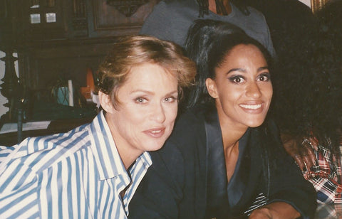 Picture of Tracee Ellis Ross and Lauren Hutton Fierce Chick Friday Lauren Hutton White Space Jewelry