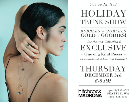 White/space X Hitchcock madrone Trunk Show