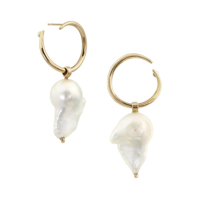Esme Baroque Hoop Earrings